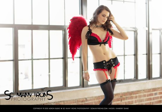 Model: Kimberly Diane | Client: Hustler Hollywood | Project: Valentine's Day Gift Guide 2013 | With Emmis Digital / 105.7 the Point St. Louis