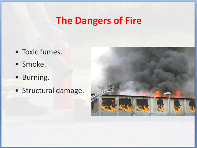 Fire Safety Awareness Training Course | The Dangers of Fire