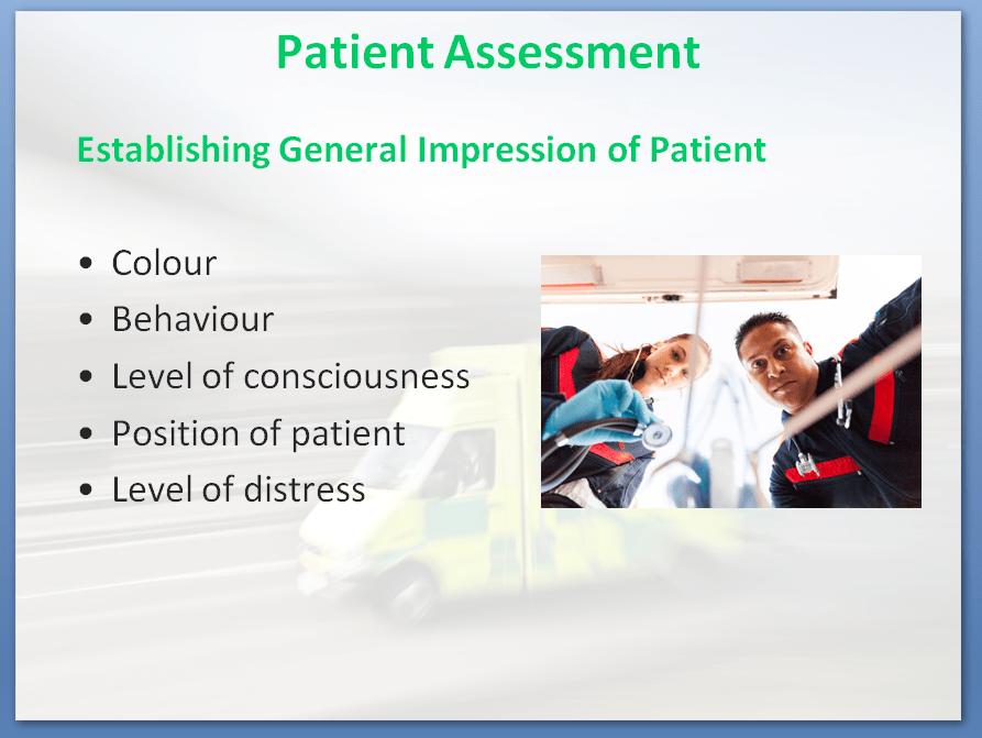 First Aid Awareness Training Course | Patient Assessment