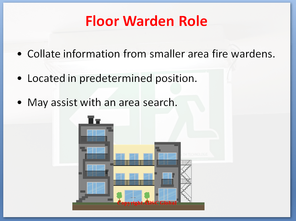 Floor Warden Role