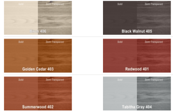 Newdeck Colour Chart