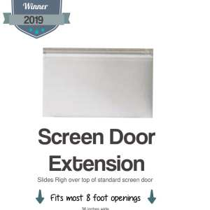 8 foot storm door 96 inch screen door extension