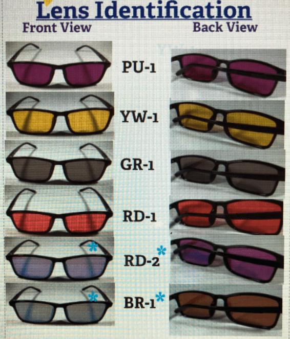 Color Blind Glasses blue green