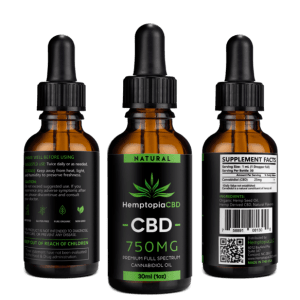 Full Spectrum CBD Oil by Hemptopia