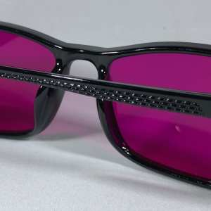 lavender Color Blind Glasses Lens