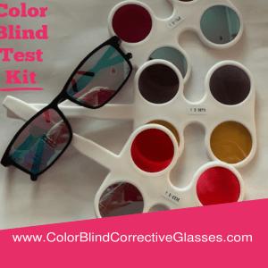 In-Home Color Blind test Kit