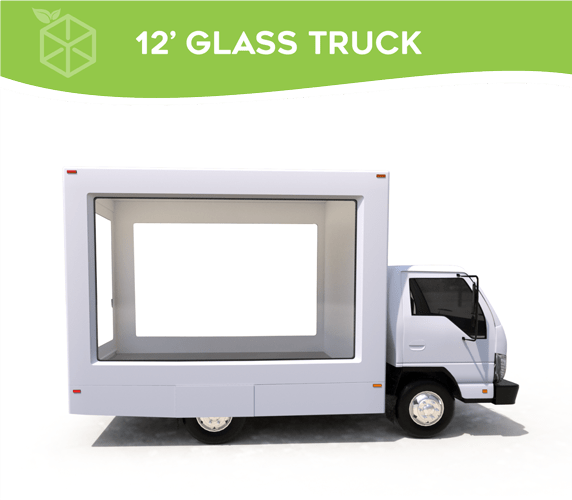 Brand Activation Glass Box Truck