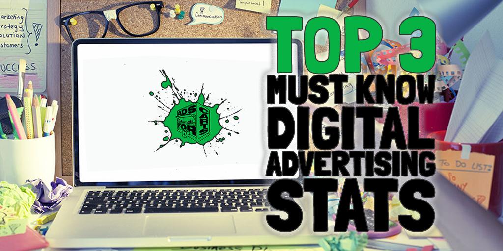 3 Must Know Digital Advertising Statistics