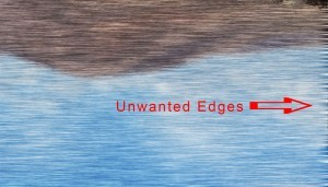 Increase width to hide unwanted edges.