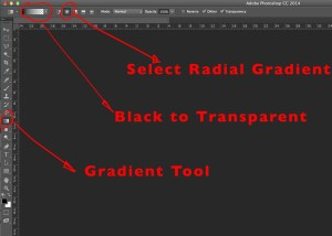Photoshops Gradient Options
