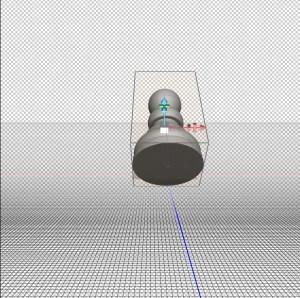 Photoshop 3D rotation on x axis