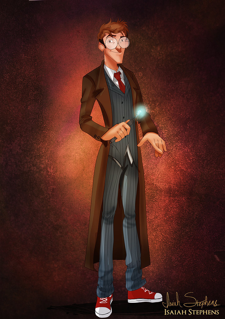 Milo Thatch as The Tenth Doctor