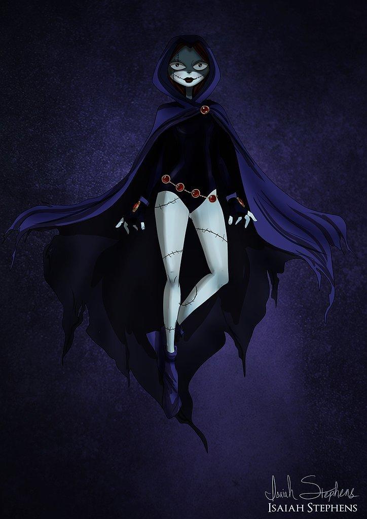 Sally as Raven