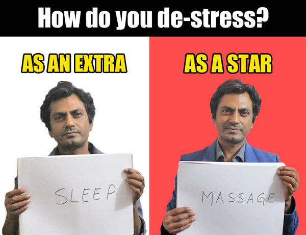 how nawaz de stress