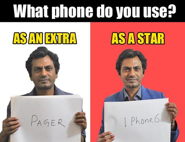 what phone nawaz use