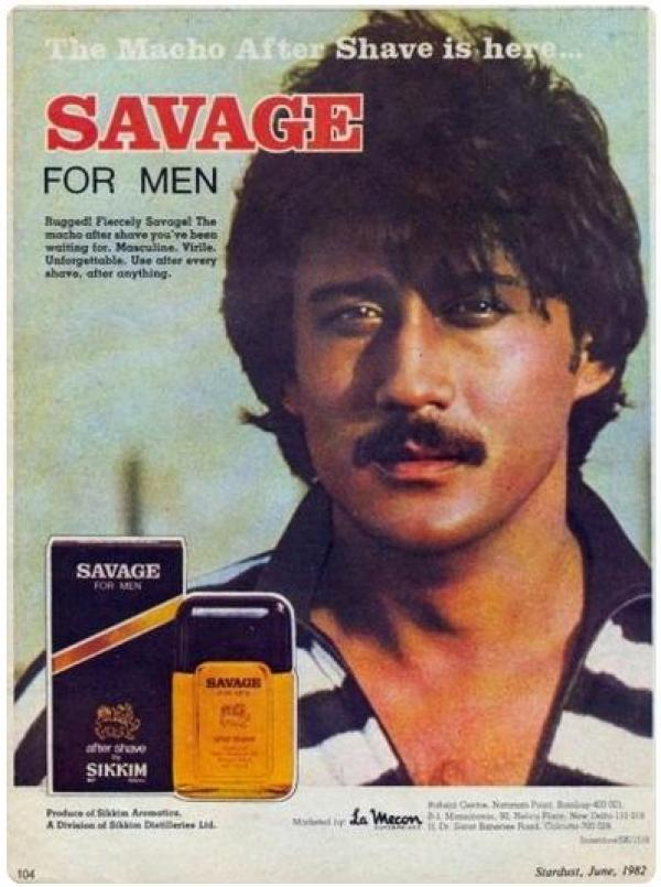 jackie shroff in savage ad