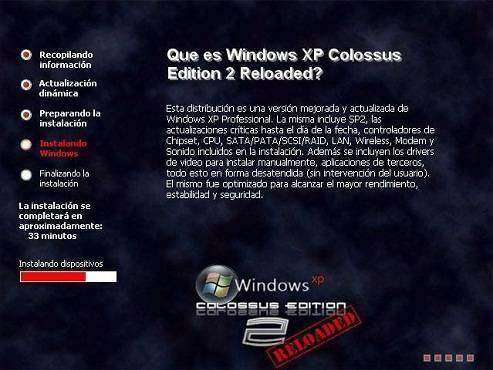Descargar Windows XP Colossus Edition 2 (Torrent) 7