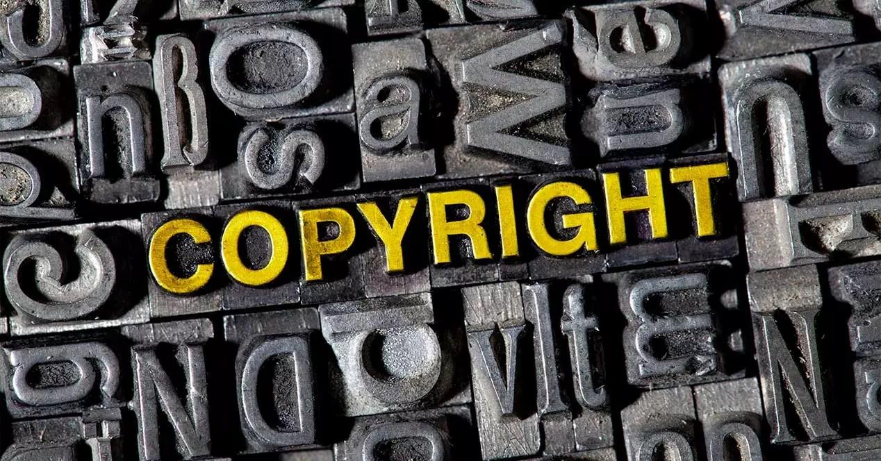 copyright ley propiedad intelectual cerrar webs