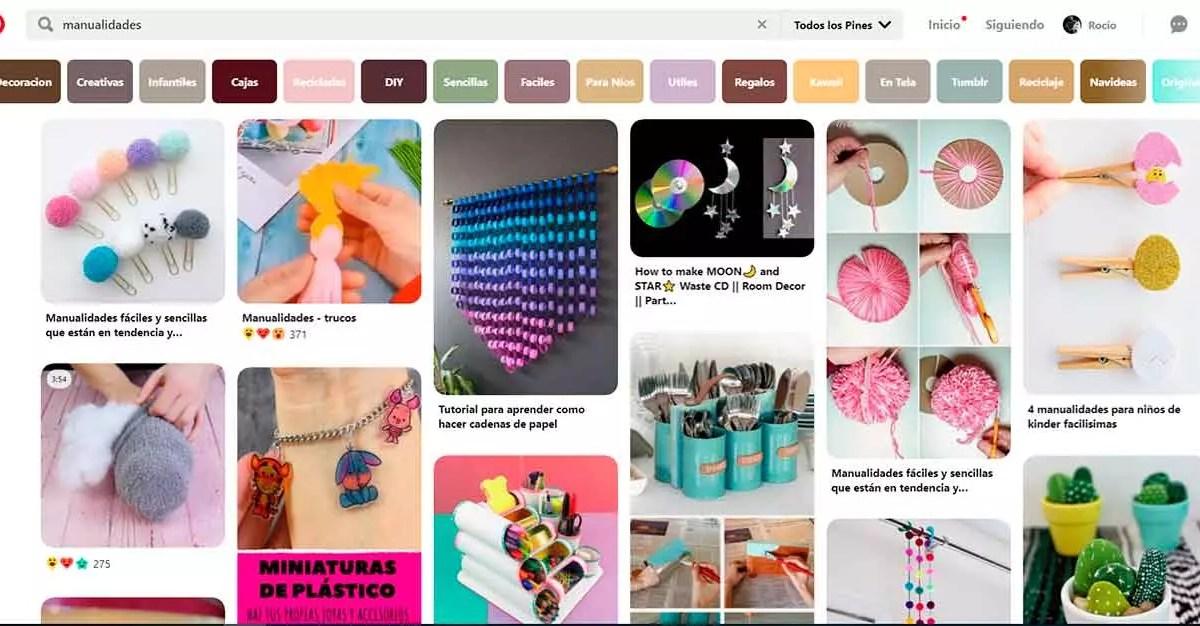 Pinterest para tutoriales DIY