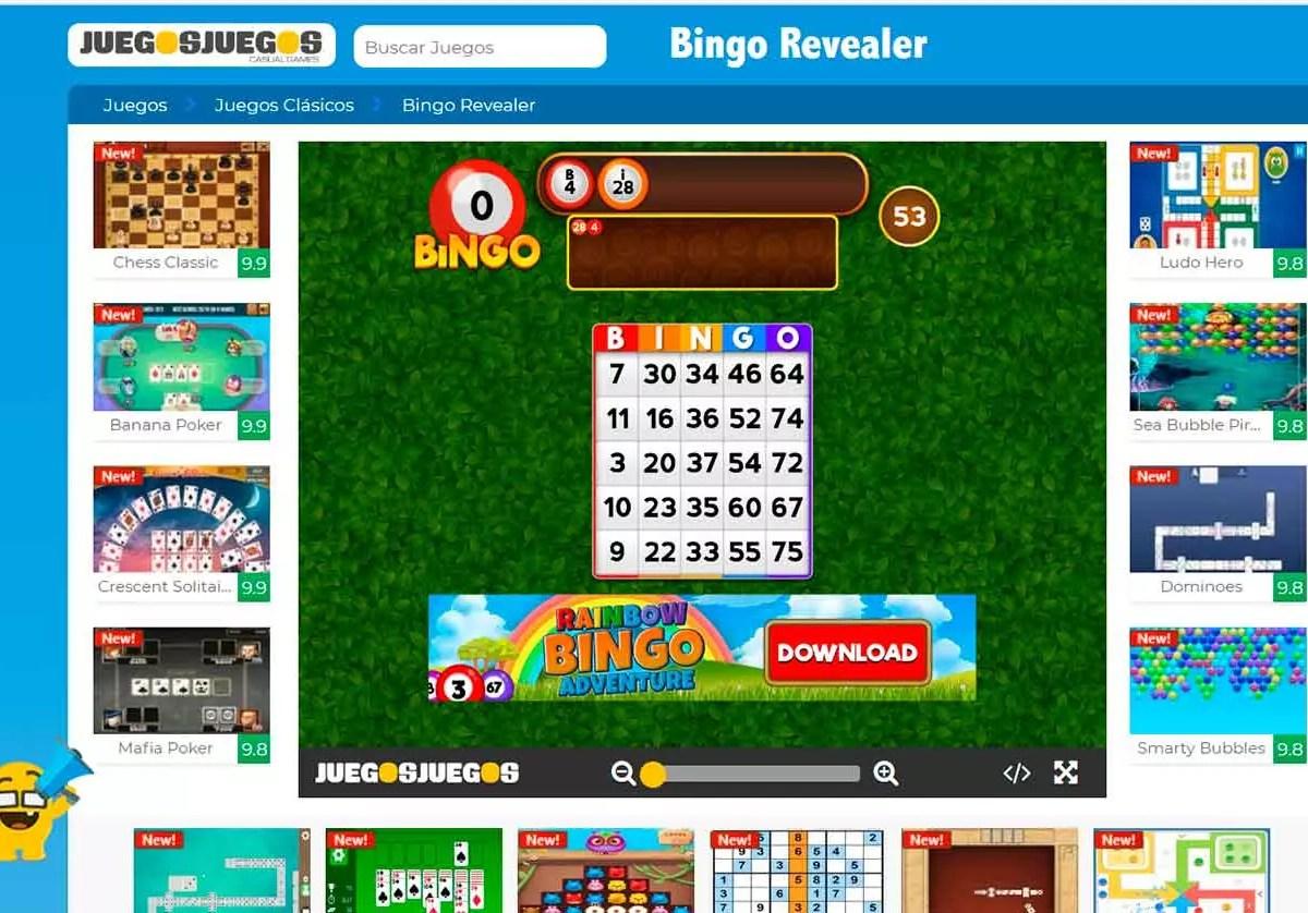 Bingo online juegosjuegos