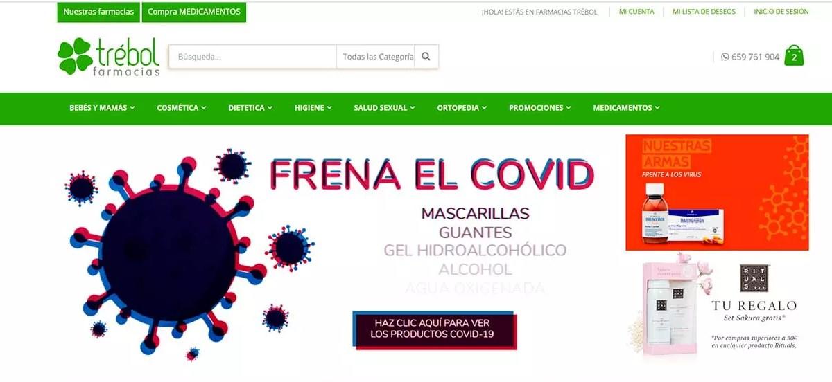Farmacias Trébol - Mejores parafarmacias online