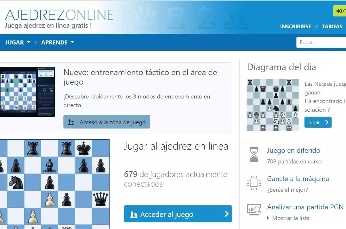 ajedre - Webs para juegos multijugador