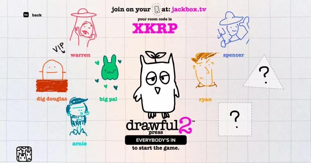 drawful - mejores juegos casual