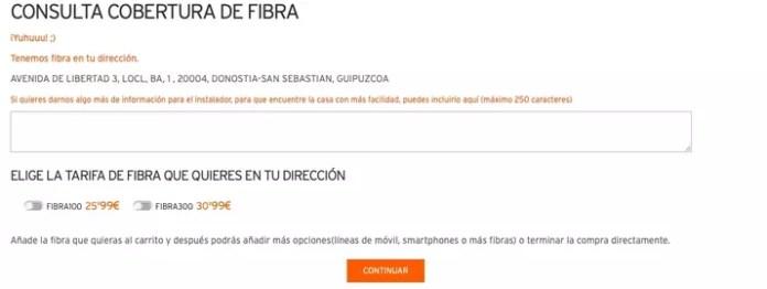 search fiber coverage