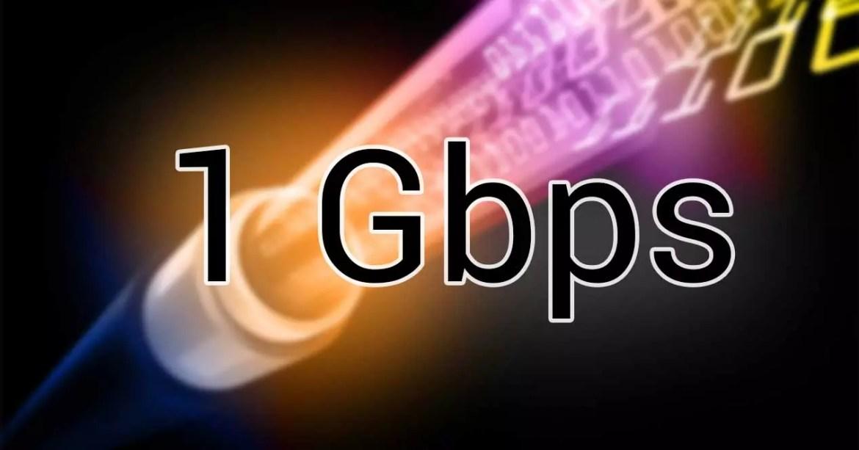 fibra optica 1 gbps simétrico