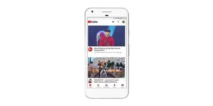 New_youtube_mobile_app_Home