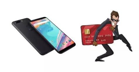 oneplus hackeo tarjetas