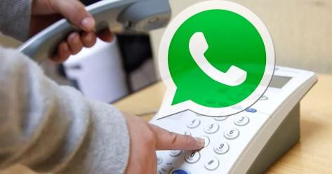 whatsapp telefono fijo