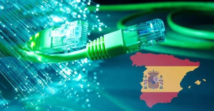 españa fibra optica 2018 NEBA