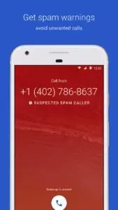 telefono android spam