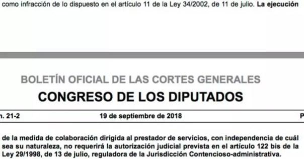 El Gobierno ya puede cerrar webs sin autorización judicial: aprobada la nueva Ley de Propiedad Intelectual