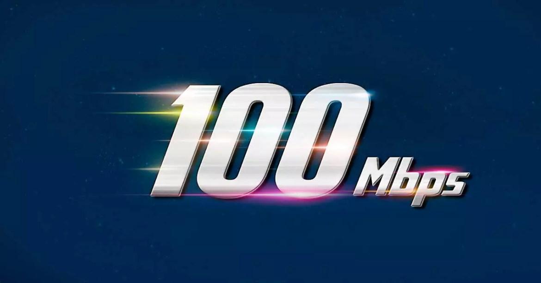 100 mbps