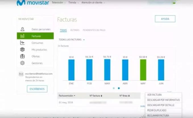"""Invoice Movistar """"width ="""" 715 """"height ="""" 436 """"srcset ="""" https://i2.wp.com/www.adslzone.net/app/uploads/2019/06/movistar-715x436.jpg?fit=679%2C6592&ssl=1 715w, https: //www.adslzone. net / app / uploads / 2019/06 / movistar-400x244.jpg 400w, https://www.adslzone.net/app/uploads/2019/06/movistar-768x469.jpg 768w, https: //www.adslzone. net / app / uploads / 2019/06 / movistar-544x332.jpg 544w, https://www.adslzone.net/app/uploads/2019/06/movistar.jpg 1548w """"sizes ="""" (maximum width: 715 pixels) 100vw, 715px"""