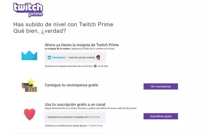 Twitch Prime gratis