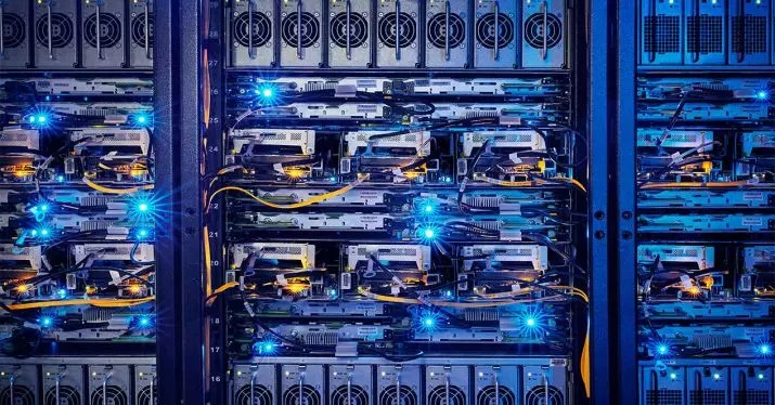 servidor rack fibra