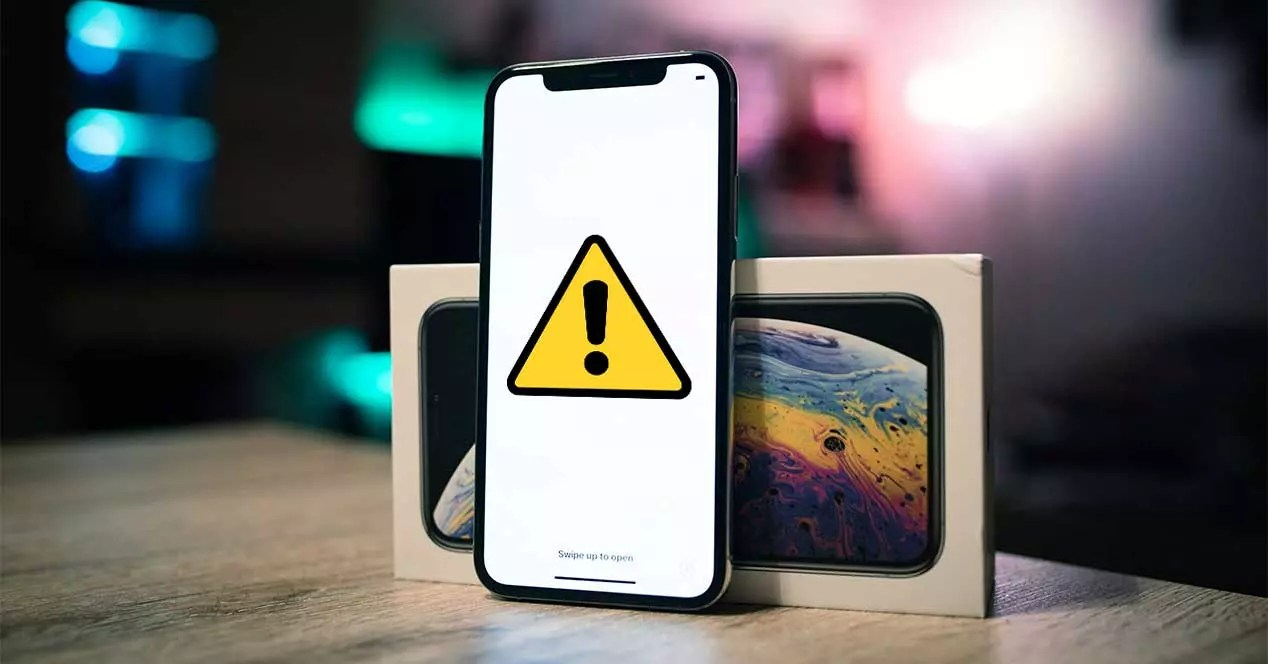 ios iphone fallo