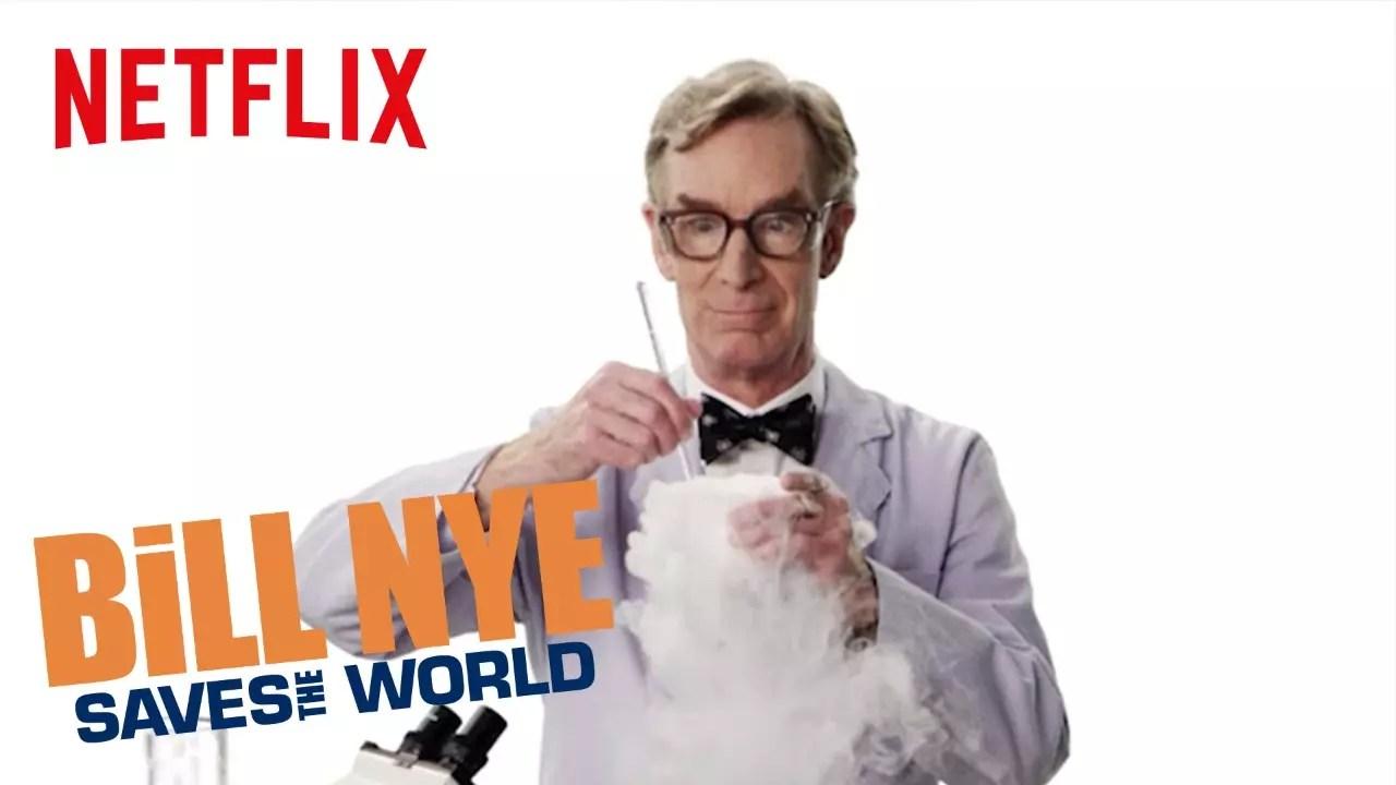 Bill Nye salva el mundo - Mejores series de ciencia