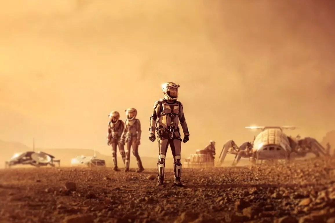 Marte - Mejores series de ciencia