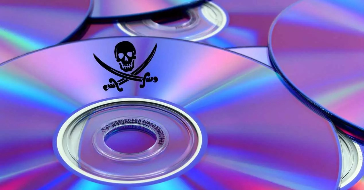 discos musica pirateria