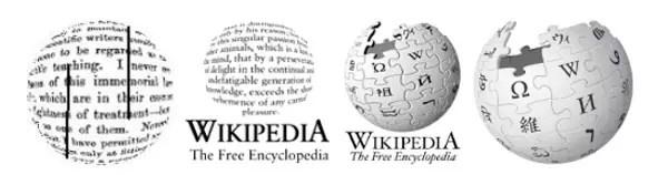 Logos de Wikipedia