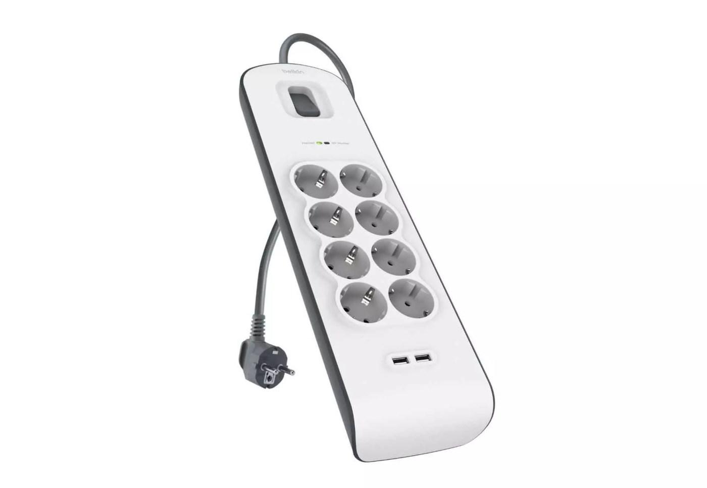 Regleta con protección - - Accesorios para Smart TV