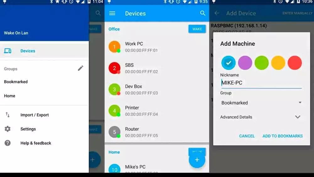 Wake on LAN para Android