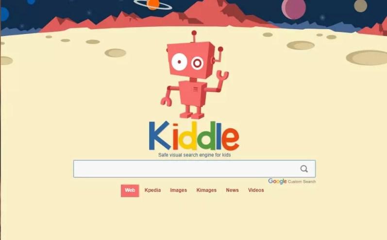 buscadores de internet kiddle