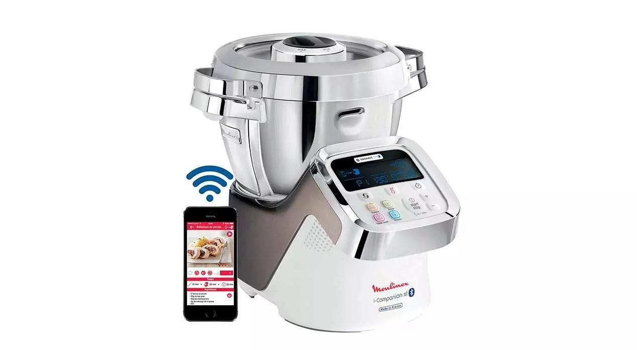 robots de cocina con WiFi - Moulinex iCompanion
