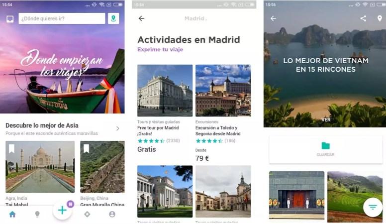 Minube apps para viajar