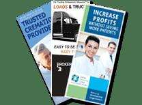 Atlanta Brochure Design and Printing for small business marketing atlanta